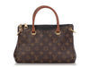 Louis Vuitton Black and Monogram Pallas BB