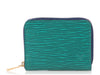 Louis Vuitton Emerald Epi Zippy Coin Purse