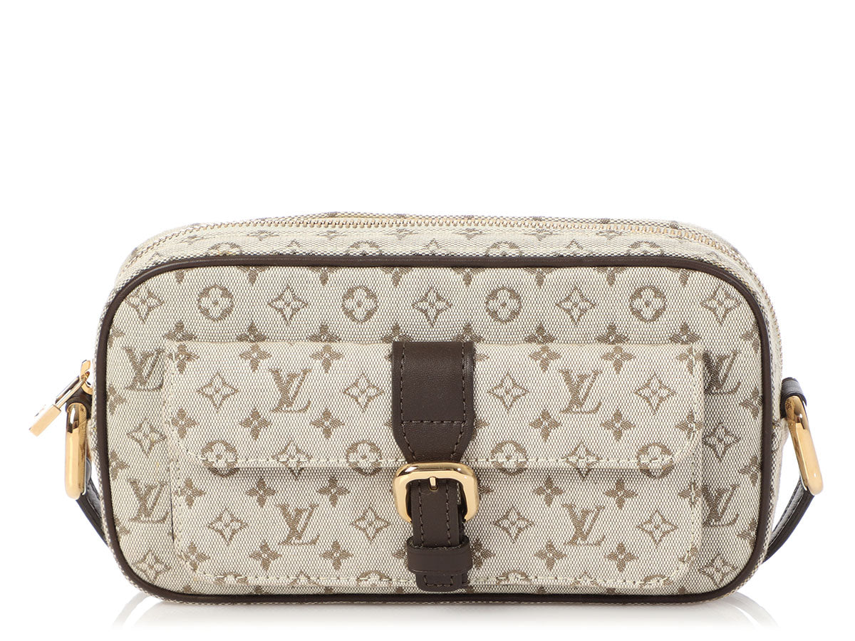 Louis Vuitton Ebène Mini Lin Juliette Crossbody