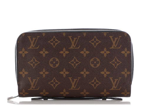 Louis Vuitton Monogram Macassar XL Zippy Wallet