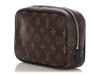 Louis Vuitton Monogram Macassar Toilet Pouch PM