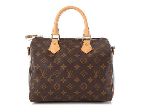 Louis Vuitton Monogram Speedy Bandoulière 25