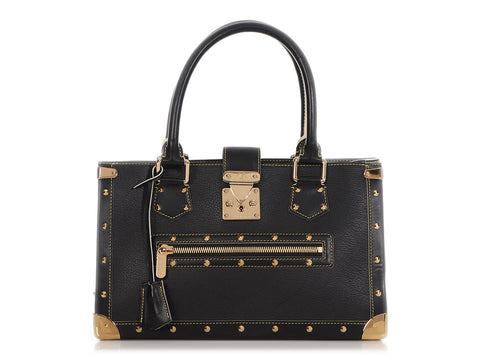 Louis Vuitton Black Suhali Le Fabuleux Tote