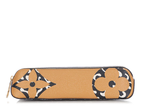 Louis Vuitton Monogram Giant Jungle Elizabeth Pencil Case