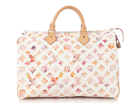Louis Vuitton Richard Prince Watercolor Speedy 35