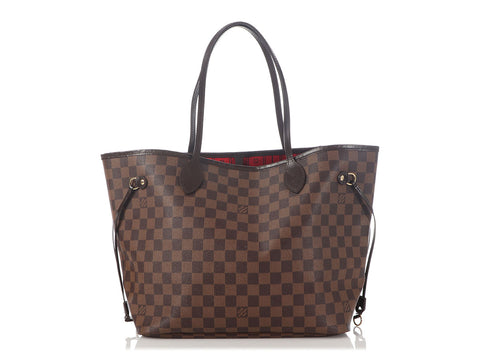 Louis Vuitton Damier Ebène Neverfull MM