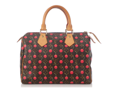 Louis Vuitton Cerises Speedy 25