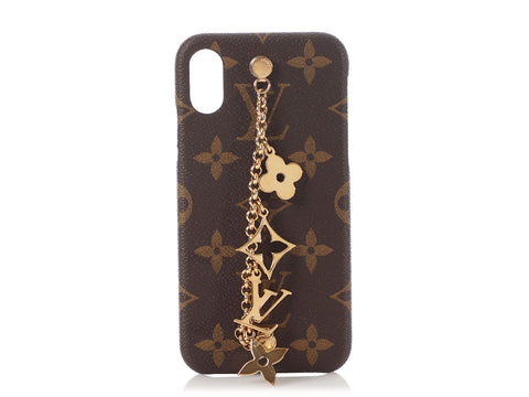 Louis Vuitton Monogram iPhone X/Xs Charm Case