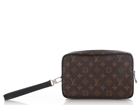 Louis Vuitton Macassar Monogram Kasai Clutch