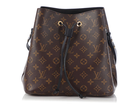 Louis Vuitton Monogram Noir Néonoé MM