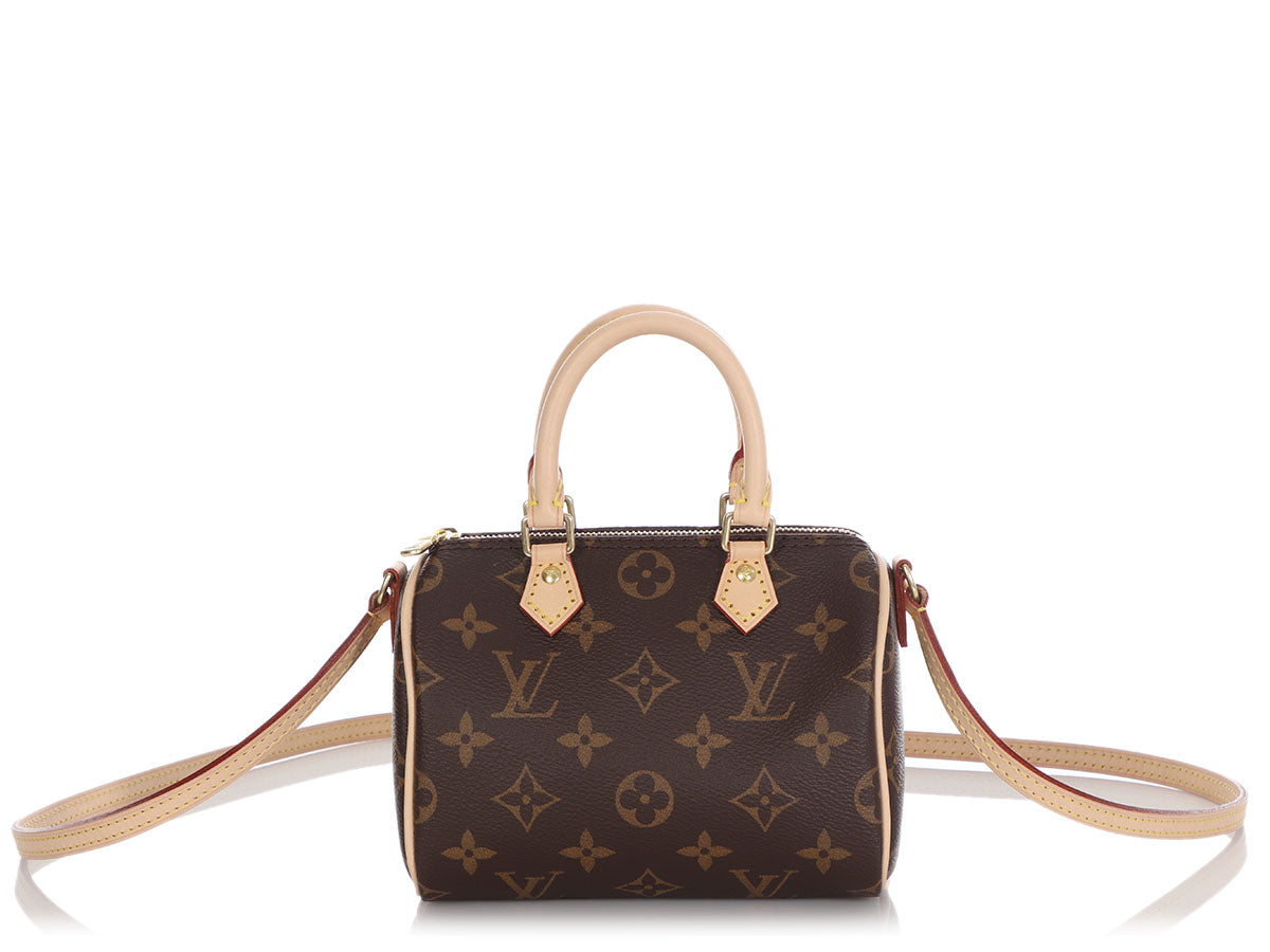 Louis Vuitton Nano Monogram Speedy