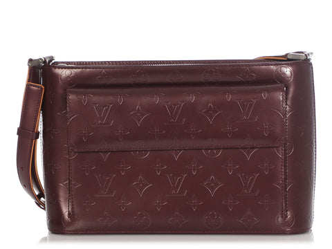 Louis Vuitton Violet Mat Allston Bag
