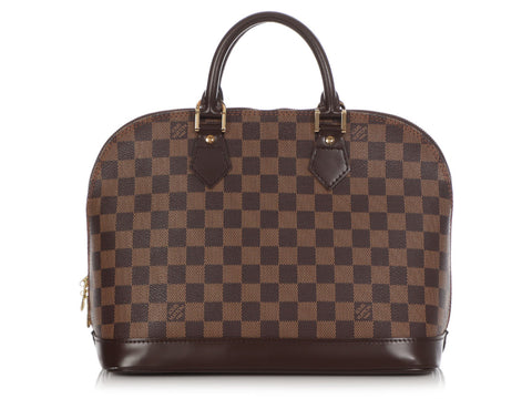 Louis Vuitton Damier Ebène Alma BB