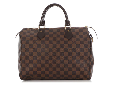 Louis Vuitton Damier Ebène Speedy 30