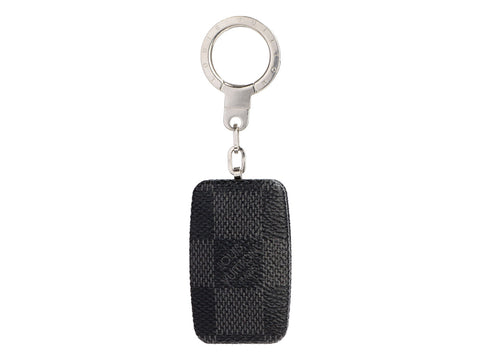 Louis Vuitton Damier Graphite Flashlight Keychain