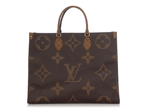 Louis Vuitton Monogram Giant Reverse Onthego GM
