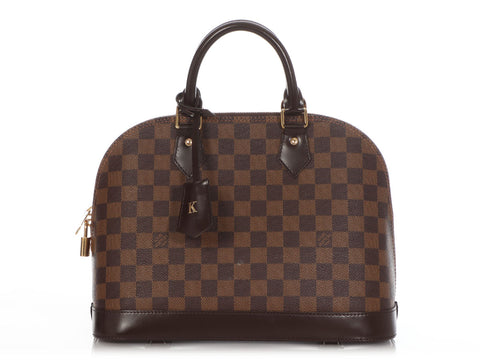 Louis Vuitton Damier Ebène Alma PM