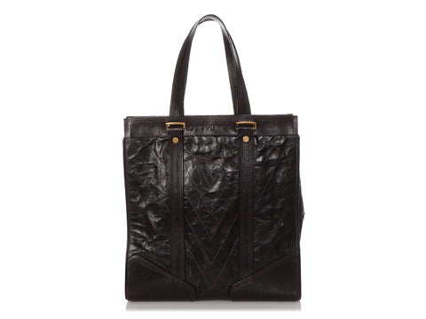 Louis Vuitton Brown Kangaroo Soana Sac Plat