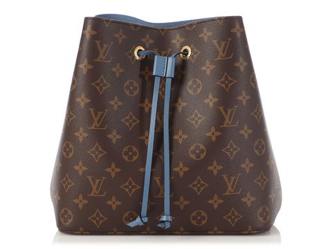 Louis Vuitton Monogram Blue Jean Néonoé