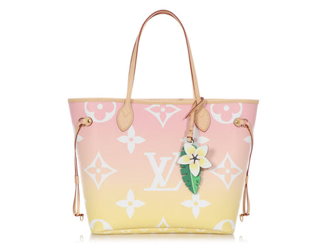 Louis Vuitton Light Pink Monogram Giant By the Pool Neverfull MM