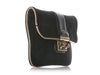 Louis Vuitton SC Slim Black Suede Clutch