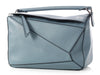 Loewe Medium Stone Blue Puzzle Bag