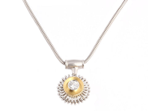 Michael B Diamond Necklace