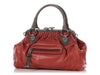 Marc Jacobs Red Snakeskin-Trim Stam