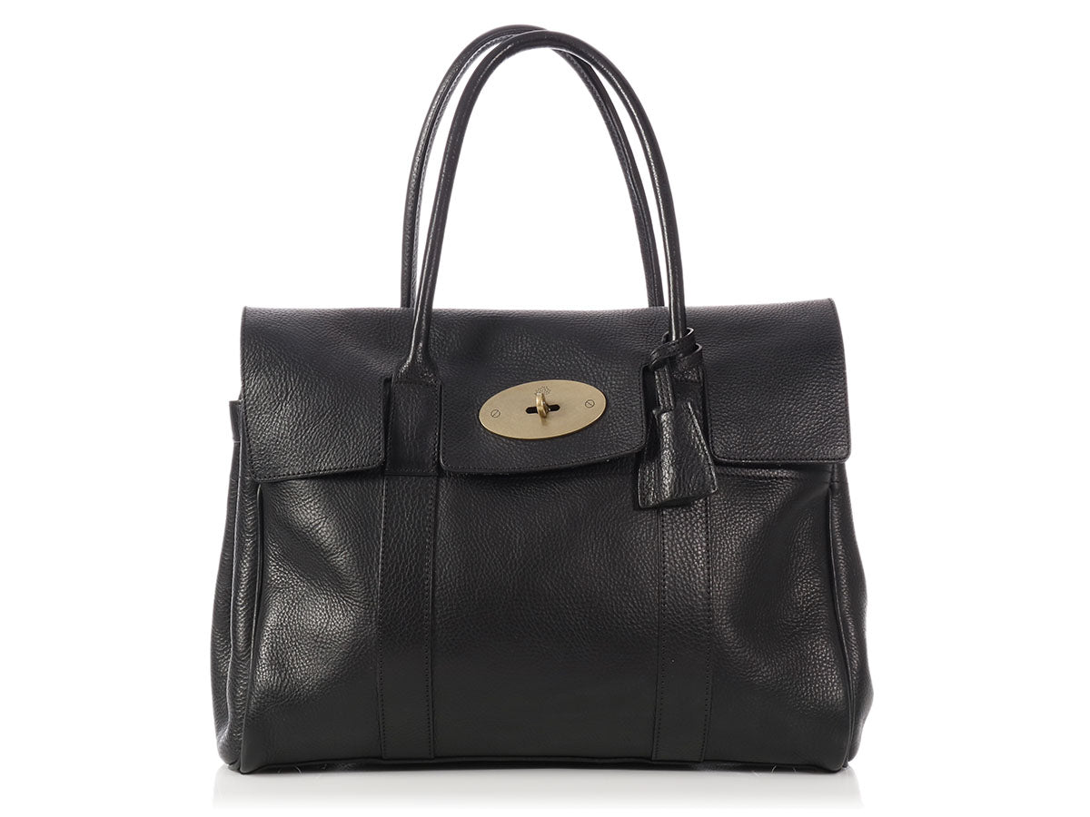 Mulberry Black Bayswater