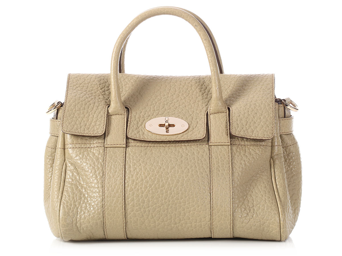 Mulberry Small Khaki Bayswater
