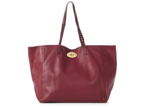 Mulberry Burgundy Dorset Tote