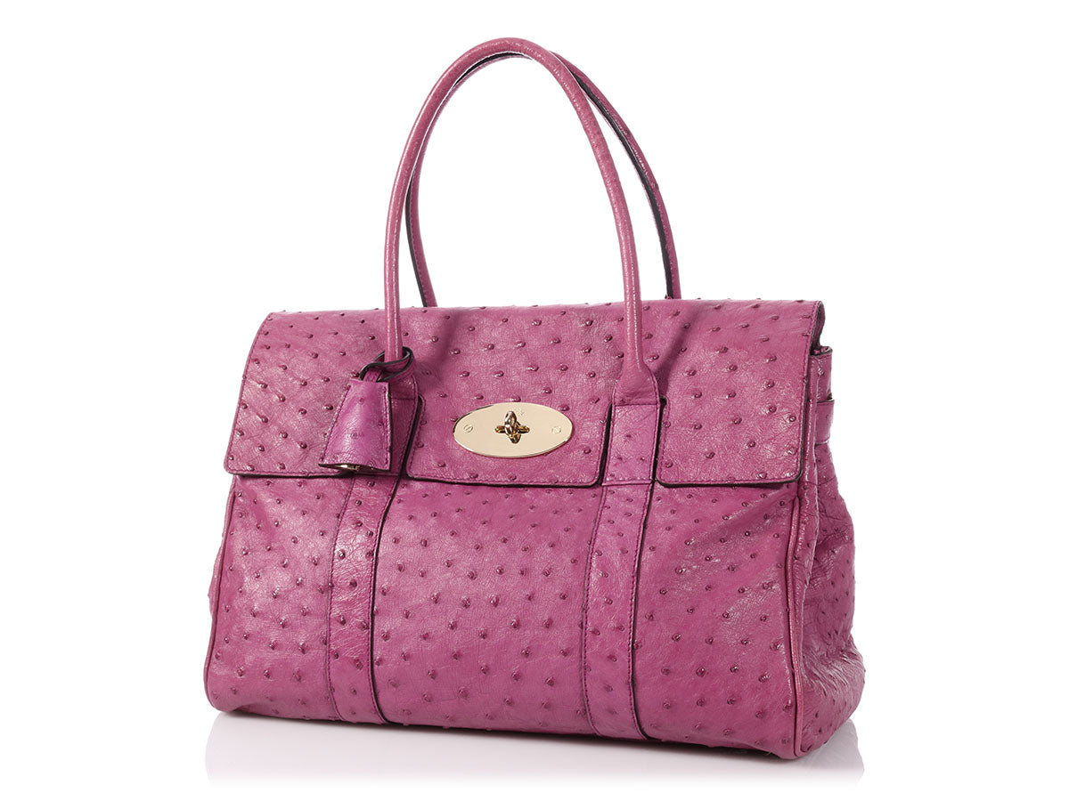 541c939035d4 Mulberry Purple Ostrich Bayswater