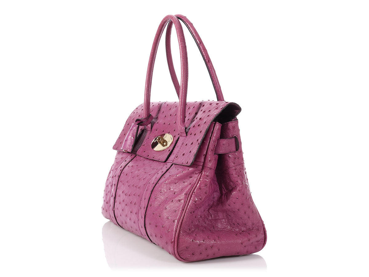Mulberry Purple Ostrich Bayswater 1d6743b1a0