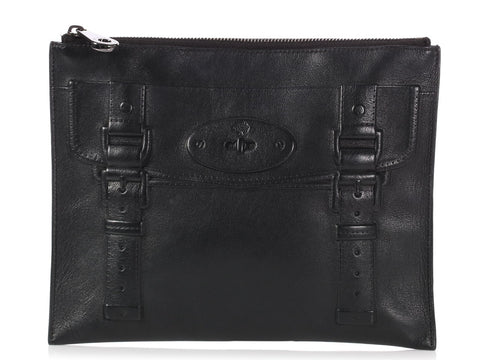 Mulberry Black Maisie Pouch