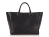 Mulberry Black Shrunken Calfskin Willow Tote