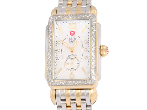 Michele Two Tone Deco Park Ladies Watch