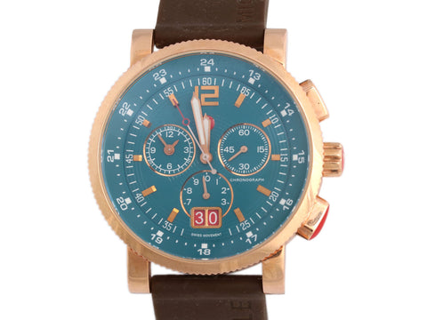 Michele Rose Gold Sport Sail Watch 42mm
