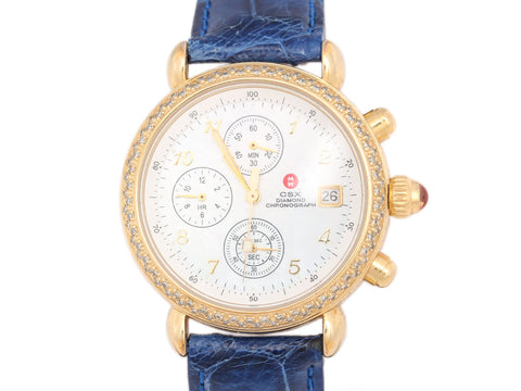 Michele Diamond Chronograph CSX Watch 36mm