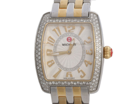 Michele Two-Tone Diamond Urban Watch