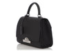 Moynat Black Grained Calfskin Réjane PM