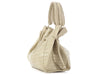 Nancy Gonzalez Cream Crocodile Tote