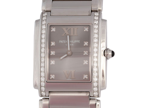 Patek Philippe Diamond Twenty~4 Watch