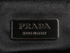 Prada Beige Ostrich Kiss Lock Bag