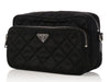 Prada Black Quilted Nylon Camera Bag