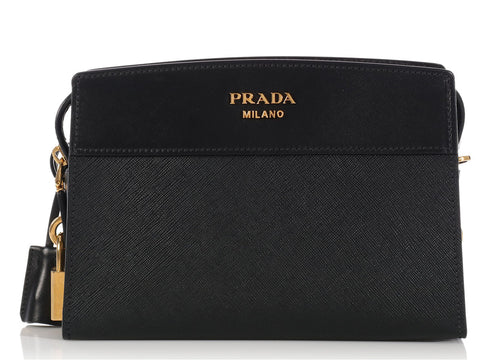 Prada Black Esplanade Crossbody