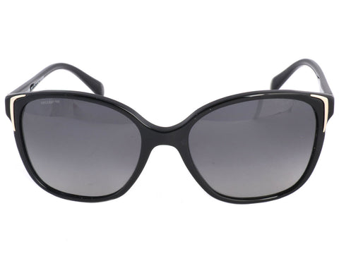 Prada Square Framed Black Sunglasses