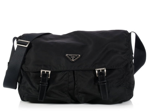 Prada Black Nylon Velo
