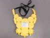 Prada Yellow Drill Ricamo Pietre Bib Necklace