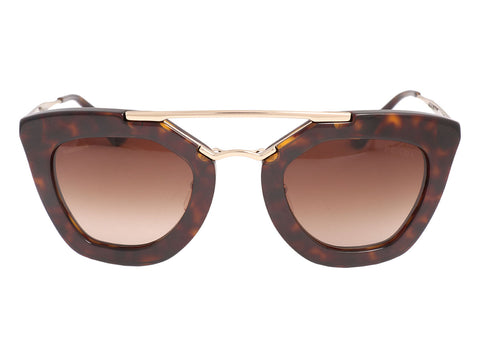 Prada Cat Eye Aviator Sunglasses