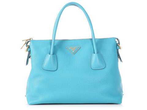 Prada Large Voyage Side Zip Tote